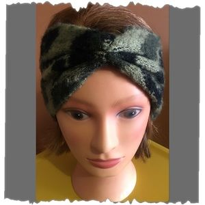 Camouflage Print Ear Warmers